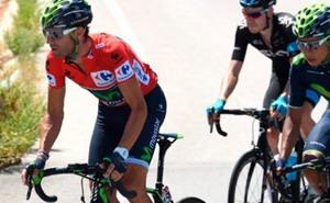 Así fue la caída de Alejandro Valverde en La Vuelta