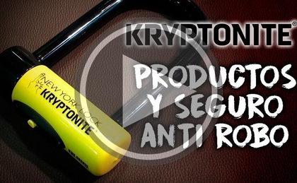 Asegura la protección de tu bicicleta con los candados Kryptonite