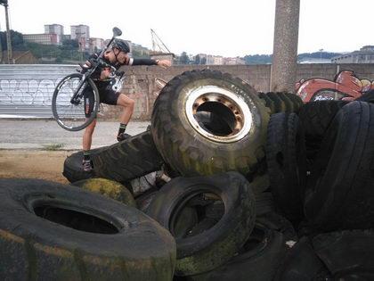 Así son los duros entrenamientos del BZ Team para la temporada de ciclocross