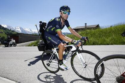 Así ve Alejandro Valverde el Tour de Francia 2017