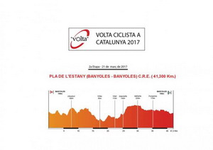 Banyoles tendrá una contrarreloj en la Vuelta a Cataluña