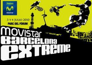 Presentación de la tercera edición de Movistar Barcelona Extreme