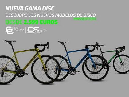 Berria Bike sigue sorprendiendo y lanza su nueva gama Disc