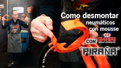 Bricobike: Desmonta el mousse de tus neumáticos fácilmente con la PIRAÑA