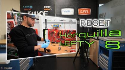 BricoBike con Racing Shox: Cómo resetear la horquilla Lefty 8 de Cannondale