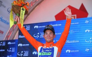 Caleb Ewan gana la primera del Tour Down Under