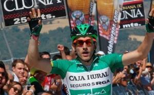 Carlos Barbero primer líder de la Vuelta a Burgos 2015