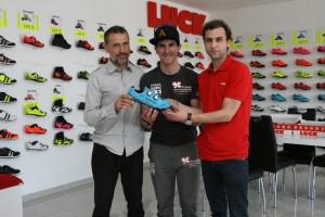 Carlos Coloma utilizará zapatillas Luck Cycling Shoes