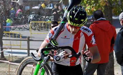 Carlos Hernández y Ruth Moll dominan en el ciclocross de Los Molinos