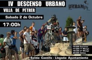 Petrer acogerá la IV Edición del descenso urbano Urban DH Contest