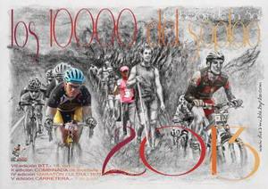Cartel 10000 del Soplao 2013