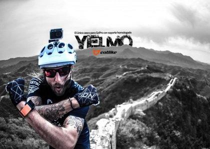 Catlike Yelmo, el casco con soporte homologado para GoPro