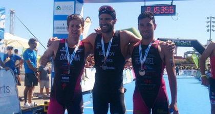 Cesc Godoy campeón de España de triatlón