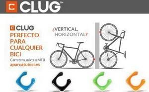 CLUG: El aparcabicis más pequeño del mercado