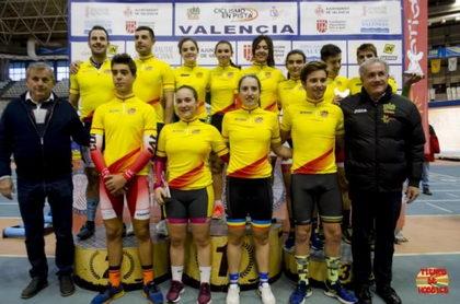 Comenzó en Valencia la Copa España Pista 2018