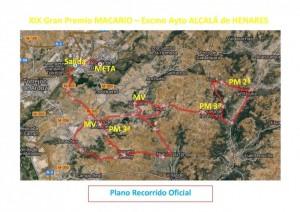 Confirmado el recorrido del Gran Premio Macario