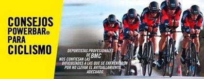 Consejos Powerbar para ciclistas con los corredores del BMC