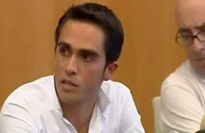 Alberto Contador podría perder su tercer Tour de Francia
