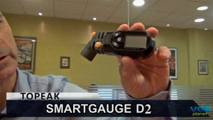 Controla la presión con el Topeak SmartGauge D2