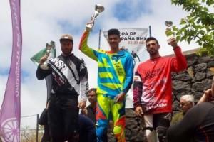 Copa de España de BMX: Dominio canario en La Laguna
