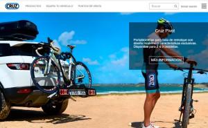 Cruz presenta su nueva página web cruzber.com