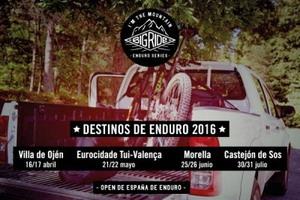 Cuatro sedes para el Open de España de Enduro