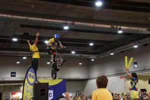 Dani Comas logra en Unibike un récord del mundo