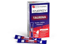 Date un impulso extra con Energy Taurina de FortePharma