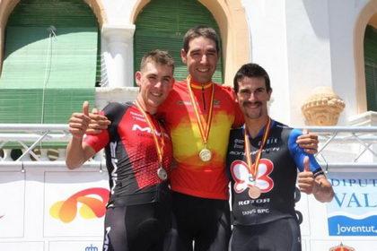David Valero campeón de España de MTB