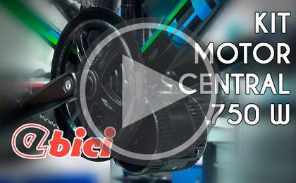 De bici a ebici con el kit de motor central 750W
