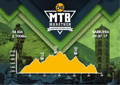 Definido el recorrido de la BUFF® MTB Marathon Campeonato de Cataluña