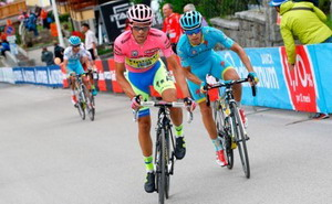 Dominio de Alberto Contador en el Giro de Italia