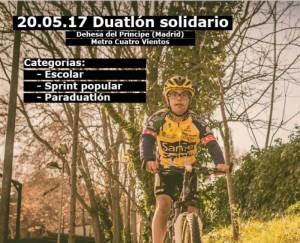 Down Madrid y Challenge organizan el duatlón y paraduatlón solidario