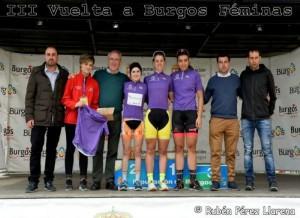 Eider Merino, Sara Martín y Eva Anguela se llevan la III Vuelta a Burgos