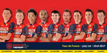 El Bahrain-Merida ya tiene equipo para debutar en el Tour de Francia