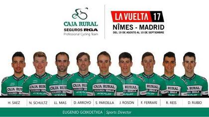 El Caja Rural-Seguros RGA ya tiene equipo para la Vuelta 2017