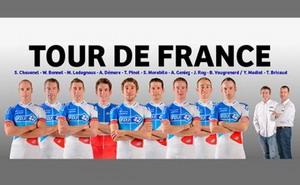 El equipo francés FDJ, presenta su equipo para el Tour de Francia