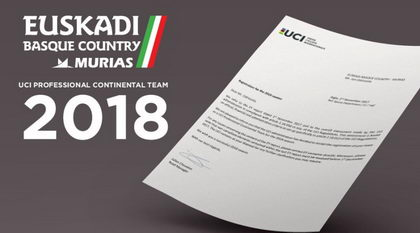 El Euskadi Basque Country - Murias Taldea confirmado como equipo Continental