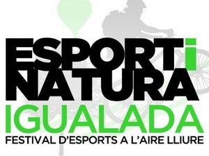 El festival Igualada Esport i Natura con varias actividades de ciclismo