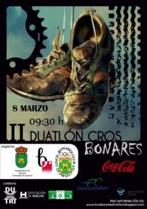 El II Duatlón Cros de Bonares este domingo
