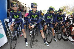 El Movistar Team con triple cita competitiva