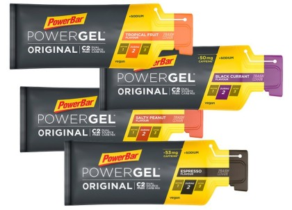El PowerGel Original de Powerbar ahora con un extra de cafeína
