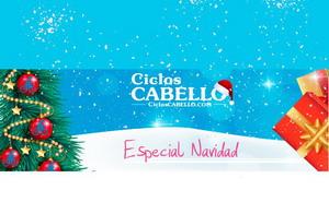 En Ciclos Cabello la Navidad es más Navidad!