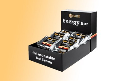 Energy Bar de Crown Sport Nutrition, explosión de sabor para distancias largas