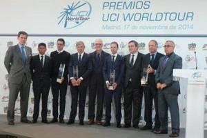 Entregados los premios Uci World Tour en Madrid