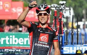 La Vuelta: Erviti brillante vencedor de etapa
