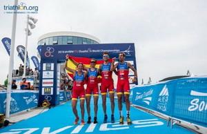 España despide con un oro el Campeonato del mundo de Avilés