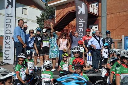 Espectacular Fiesta de la Bici con la presencia de Mikel Landa