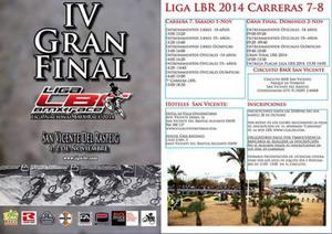 Este fin de semana la Gran Final de la liga LBR de BMX