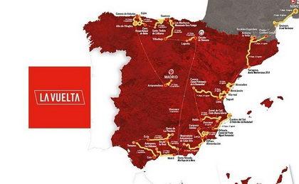 Etapas y recorrido Vuelta a España 2017